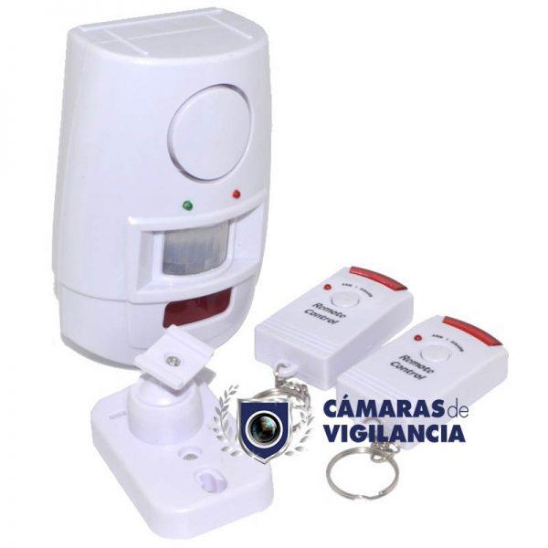 kit de alarma de seguridad con control remoto