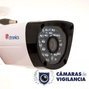 cámara analógica exterior cctv