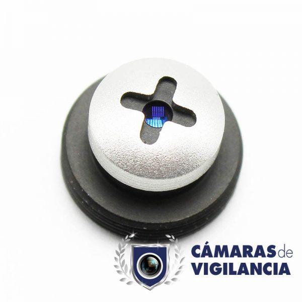 cámara analógica interior oculta en cabeza de tornillo