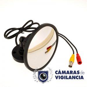cámara cctv camuflada en espejo