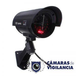 cámara cctv falsa seguridad