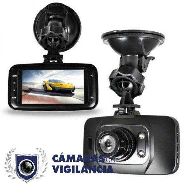 cámara de coche espía con sensor de movimiento