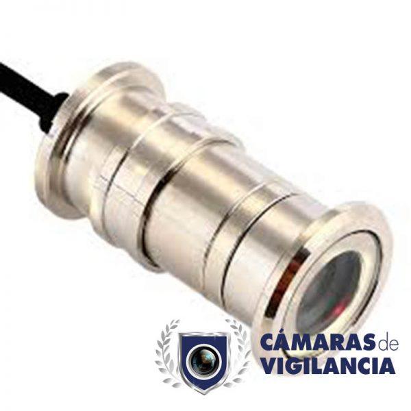 cámara de vigilancia camuflada en mirilla