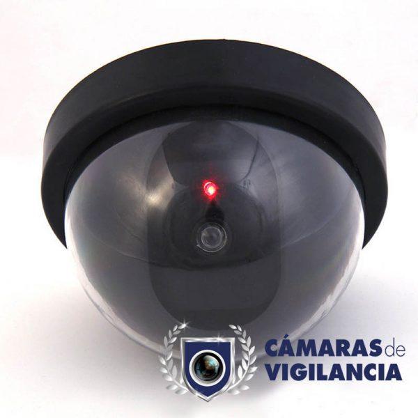 cámara falsa domo con luz