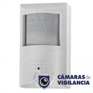 cámara ip oculta en detector de movimiento