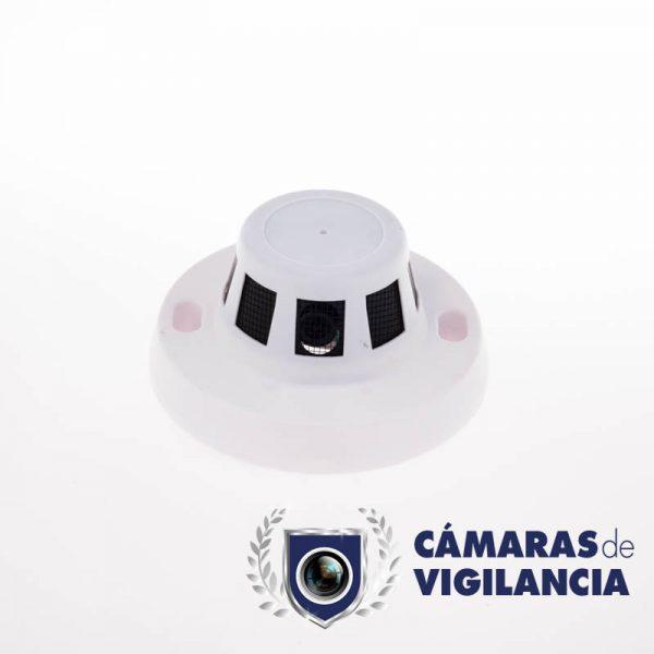 cámara oculta en detector de humos