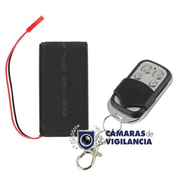cámara oculta en kit antivandalico de coche