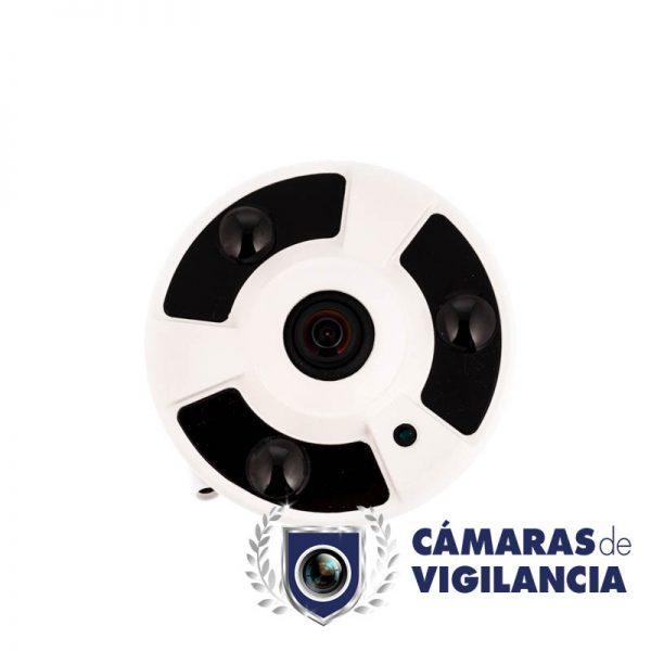 cámara panorámica vigilancia ahd