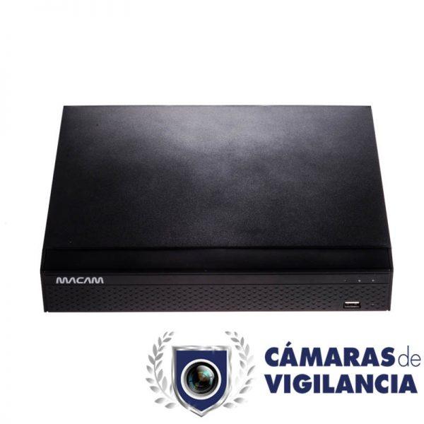 grabador 8 cámaras analógicas