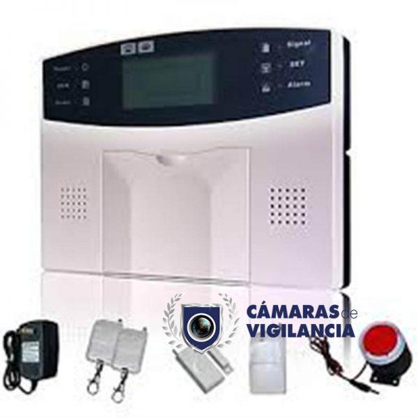 kit de alarma de seguridad inalámbrica con detector de movimiento