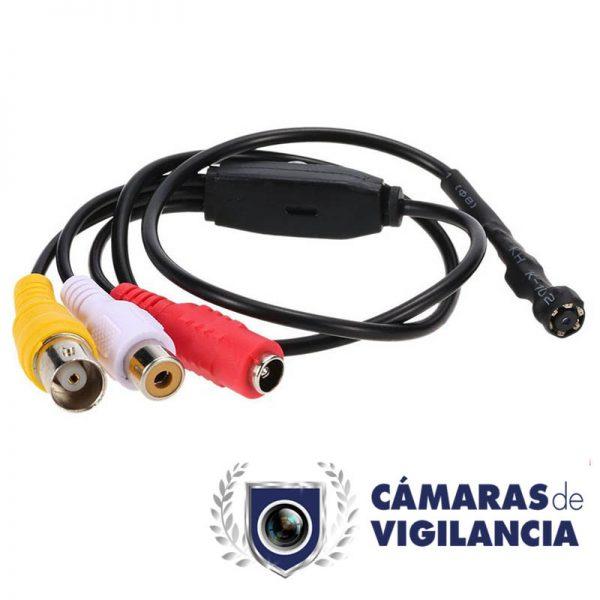 micro cámara de vigilancia visión nocturna