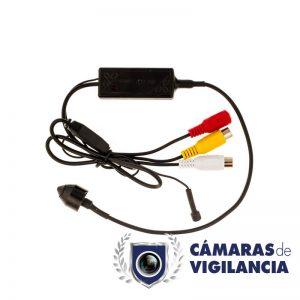 mini cámara de vigilancia 800 tvl